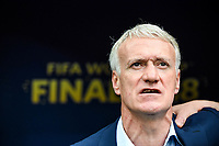 France head coach Dider Deschamps during the World Cup Final match between France and Croatia at Luzhniki Stadium on July 15, 2018 in Moscow, Russia. (Photo by Anthony Dibon/Icon Sport)