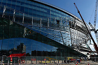 The West stand at the Tottenham Hotspur Stadium work in progress at  High Road (White Hart Lane), London, England on 18 October 2018. Photo by Vince  Mignott.
