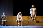 "Concha Delgado, Pastora Vega and Maria Galiana during theater play ""La Asamblea de las Mujeres"" at Teatro La Latina in Madrid. August 23 2016. (ALTERPHOTOS/Borja B.Hojas)"