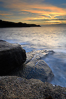 Dawn from Tolman Point near Old Town Bay on St Mary's, Isles of Scilly