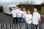 Kerry Volunteers who are travelling to Belarus with Chernobyl Children International Pictured Mary and George Sugrue with Mike Murphy, Ivan Blennerhassett, Frank Murphy, Geraldine McCarthy