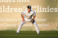 Jackson Generals right fielder Tyler O'Neill (4) during a game against the Jacksonville Suns on May 4, 2016 at The Ballpark at Jackson in Jackson, Tennessee.  Jackson defeated Jacksonville 11-6.  (Mike Janes/Four Seam Images)