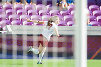 Orlando, FL - Sunday December 03, 2017: Andi Sullivan, celebrate, celebration during the NCAA Division I Women's Soccer Championship match between the Stanford Cardinal and the UCLA Bruins at Orlando City Stadium.
