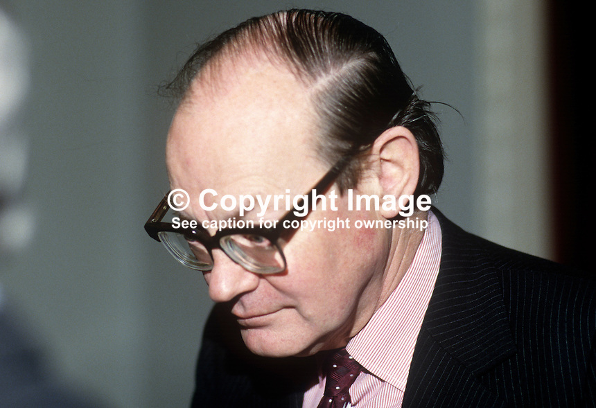 Sir Robert Andrew, Permanent Under Secretary, N Ireland Office, Stormont Castle, N Ireland, 198601115RA1..Copyright Image from Victor Patterson, 54 Dorchester Park, Belfast, United Kingdom, UK...For my Terms and Conditions of Use go to http://www.victorpatterson.com/Victor_Patterson/Terms_%26_Conditions.html