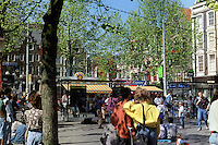 A square in Amsterdam (Netherlands, 12/04/1991)