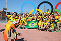 Volunteers, <br /> AUGUST 1, 2016 : <br /> the Rio 2016 Olympic Games in Rio de Janeiro, Brazil. <br /> (Photo by Yohei Osada/AFLO SPORT)