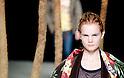 March 23rd, 2012: Tokyo, Japan  A model walks down the catwalk wearing Beautiful People during Mercedes-Benz Fashion Week Tokyo 2012 - 13 Autumn/Winter. The Mercedes-Benz Fashion Week Tokyo runs from March 18-24. (Photo by Yumeto Yamazaki/AFLO)