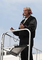 Mar 31, 2007; Martinsville, VA, USA; Nascar Nextel Cup Series team owner Robert Yates during practice for the Goody's Cool Orange 500 at Martinsville Speedway. Martinsville marks the second race for the new car of tomorrow. Mandatory Credit: Mark J. Rebilas