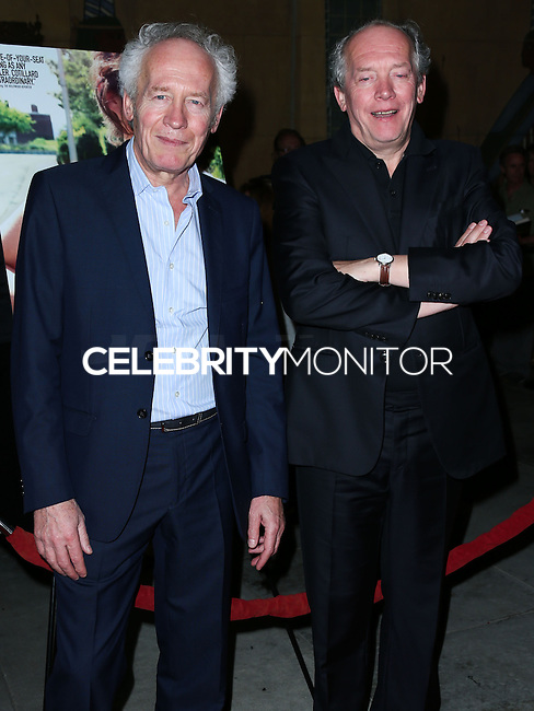 HOLLYWOOD, LOS ANGELES, CA, USA - NOVEMBER 07: Jean-Pierre Dardenne, Luc Dardenne arrive at the AFI FEST 2014 - 'Two Days, One Night' Special Screening held at the Egyptian Theatre on November 7, 2014 in Hollywood, Los Angeles, California, United States. (Photo by Xavier Collin/Celebrity Monitor)