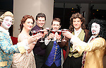 Colm Devine has a pre play drink in Bru with actors, Connolly Heron, Martin Phillips, Neill Fleming, Claire Jenkins and Damien O'Donnell from Wonderland Theatre Company...(Photo credit should read Jenny Matthews www.newsfile.ie)....This Picture has been sent you under the condtions enclosed by:.Newsfile Ltd..The Studio,.Millmount Abbey,.Drogheda,.Co Meath..Ireland..Tel: +353(0)41-9871240.Fax: +353(0)41-9871260.GSM: +353(0)86-2500958.email: pictures@newsfile.ie.www.newsfile.ie.