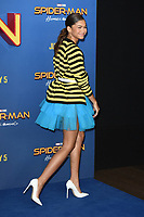 Zendaya at the 'Spider-Man: Homecoming' photocall at The Ham Yard Hotel, London, UK. <br /> 15 June  2017<br /> Picture: Steve Vas/Featureflash/SilverHub 0208 004 5359 sales@silverhubmedia.com