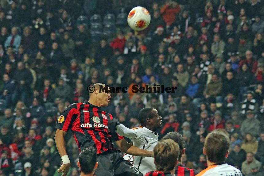 Kopfball Bamba Anderson (Eintracht) - Eintracht Frankfurt vs. APOEL Nikosia, Commerzbank Arena, Europa League Gruppenphase