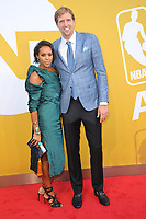 www.acepixs.com<br /> June 26, 2017  New York City<br /> <br /> Dirk Nowitzki attending the 2017 NBA Awards live on TNT on June 26, 2017 in New York City.<br /> <br /> Credit: Kristin Callahan/ACE Pictures<br /> <br /> <br /> Tel: 646 769 0430<br /> Email: info@acepixs.com