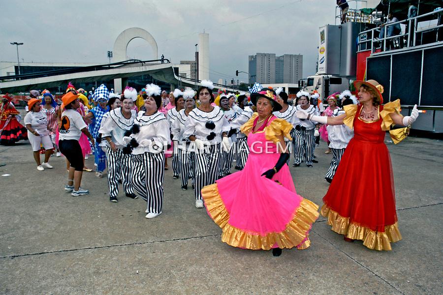 Desfile de blocos de carnaval, Pholia no Memorial. São Paulo. 2006. Foto de Juca Martins.