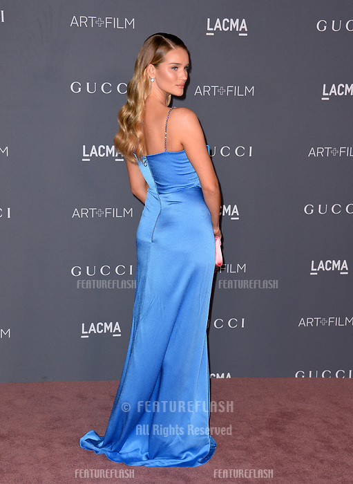 Rosie Huntington-Whiteley at the 2017 LACMA Art+Film Gala at the Los Angeles County Museum of Art, Los Angeles, USA 04 Nov. 2017<br /> Picture: Paul Smith/Featureflash/SilverHub 0208 004 5359 sales@silverhubmedia.com