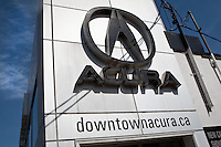 An Acura car dealership  is pictured in Toronto April 20, 2010.