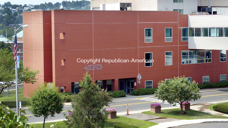WATERBURY CT. 24 July 2014-072514SV05-Saint Mary's Hospital Medical-Dental Conference Center at 100 Union St. in Waterbury Friday. <br /> Steven Valenti Republican-American