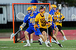 Los Angeles, CA 02/01/14 - Max Berry (UCSB #40) and Andrew Ronald (USC #26)
