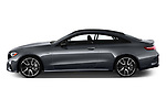 Car Driver side profile view of a 2019 Mercedes Benz E-Class AMG-E53 2 Door Coupe Side View