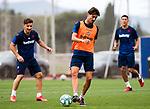 UD Levante's Enis Bardhi, Ivan Lopez and Oscar Duarte during training session. June 2,2020.(ALTERPHOTOS/UD Levante/Pool)