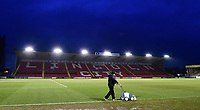 A general view of Sincil Bank, home of Lincoln City FC<br /> <br /> Photographer Chris Vaughan/CameraSport<br /> <br /> The EFL Sky Bet League Two - Lincoln City v Cheltenham Town - Tuesday 13th February 2018 - Sincil Bank - Lincoln<br /> <br /> World Copyright &copy; 2018 CameraSport. All rights reserved. 43 Linden Ave. Countesthorpe. Leicester. England. LE8 5PG - Tel: +44 (0) 116 277 4147 - admin@camerasport.com - www.camerasport.com