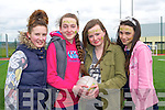 Jamie Duggan, Chloe Walsh, Amy Foley and Niamh O'Shea enjoying the John Mitchel's GAA Club Fun Day on Saturday