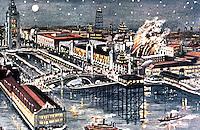 "New York:  Coney Island, Dreamland.  ""Fighting the Flames""--Koolhaua."