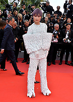 "CANNES, FRANCE. May 15, 2019: Amoy Corn at the gala premiere for ""Les Miserables"" at the Festival de Cannes.<br /> Picture: Paul Smith / Featureflash"