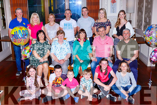 Collette Gillin, Castleisland celebrated her 40th birthday with her family and friends in the Brehon Hotel on Friday night