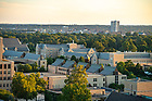 September 12, 2018; Downtown South Bend seen from campus (Photo by Matt Cashore/University of Notre Dame)