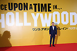 "Actor Leonardo Dicaprio attends the Japan premiere for their movie ""Once Upon a Time in Hollywood"" in Tokyo, Japan on August 26, 2019.  The film will be released in Japan on August 30."