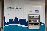 A Hartford Federal Credit Union ATM is pictured in Hartford, Connecticut, Saturday August 6, 2011. Hartford Federal Credit Union is a community chartered credit union serving Hartford, Middlesex, and Tolland County.