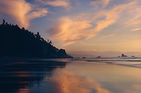 Carruthers Cove at sunset<br />