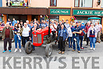 Danny Healy Rae on the late father Jackie's  Massey Ferguson at the start of the Kilgarvan Tractor run on Sunday