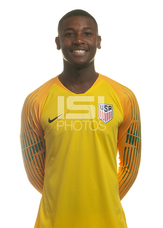 Sarasota, FL - Friday, April 26, 2019:  Headshot of Chituru Odunze.