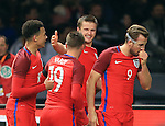 England's Eric Dier celebrates scoring his sides third goal during the International Friendly match at Olympiastadion.  Photo credit should read: David Klein/Sportimage