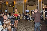 16-12-13, Netherlands, Amsterdam, Amstel Hotel, Tennisser van het jaar, , Training and interview Indy de Vroome<br /> Photo: Henk Koster