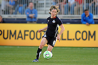 Washington Freedom defender Sonia Bompastor (8).  Boston Breakers defeated The Washington Freedom 3-1 at The Maryland SoccerPlex,  Saturday April 18, 2009.