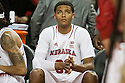 December 4, 2013: Shavon Shields (31) of the Nebraska Cornhuskers waiting to be introduced before taking on Miami (Fl) Hurricanes at the Pinnacle Bank Areana, Lincoln, NE. Nebraska defeated Miami 60 to 49.
