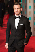 London, UK. 14 February 2016. Actor Michael Fassbender. Red carpet arrivals for the 69th EE British Academy Film Awards, BAFTAs, at the Royal Opera House. © Vibrant Pictures/Alamy Live News
