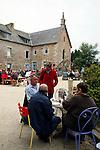 """20080724 - France - Bretagne - Camlez<br />LE """"COUVENT ALTERNATIF"""" A CAMLEZ (22).<br />Ref : COUVENT_ALTERNATIF_005.jpg - © Philippe Noisette."""