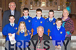Kilmurry NS Cordal pupils who was confirmed in St Stephen's and John's Church Castleisland on Wednesday