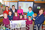 BOARDS: The Parents Association of St Joseph's national school in Ballybunion raised over EUR4,000 for new whiteboards for the school, front l-r: Niamh Stack, Orla Mulvihill, Rachel Stack, Maggie O'Neill, Barry O'Neill, Robert Stack. Back l-r: Eilish Stack, Eileen Moore, Finola Mulvihill, Carmel Guiney (Principal), Noreen Griffin (Vice-Principal).