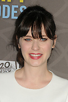 """2 March 2016 - Westwood, California - Zooey Deschanel. """"New Girl"""" 100th Episode Party held at The W Hotel. Photo Credit: Byron Purvis/AdMedia"""