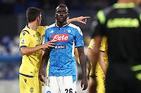 Kalidou Koulibaly of Napoli looks on<br /> Napoli 19-10-2019 Stadio San Paolo <br /> Football Serie A 2019/2020 <br /> SSC Napoli - Hellas Verona FC<br /> Photo Cesare Purini / Insidefoto