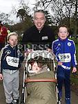 Stuart, Ronan, Ciaran ans Saoirse Farrell who took part in Erin's Run. Photo:Colin Bell/pressphotos.ie