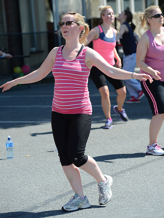 Labfitness Zumbathon. Photo:Colin Bell/pressphotos.ie