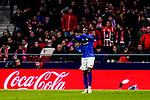 Inaki Williams Arthuer of Athletic de Bilbao celebrates scoring the second goal during the La Liga 2018-19 match between Atletico de Madrid and Athletic de Bilbao at Wanda Metropolitano, on November 10 2018 in Madrid, Spain. Photo by Diego Gouto / Power Sport Images