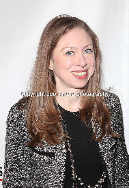 Vice Chair of the Clinton Foundation Chelsea Clinton attends THE GORDON PARKS FOUNDATION HONORS CONGRESSMAN JOHN LEWIS, MAVIS STAPLES,<br />