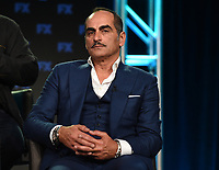 PASADENA, CA - FEBRUARY 4: Cast member Navid Negahban during the LEGION panel for the 2019 FX Networks Television Critics Association Winter Press Tour at The Langham Huntington Hotel on February 4, 2019 in Pasadena, California. (Photo by Frank Micelotta/FX/PictureGroup)
